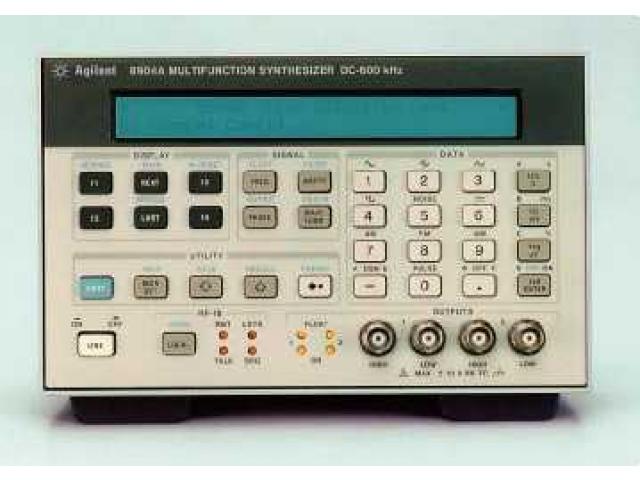 Agilent 8904A funkční generátor do 600kHz ilustrační obrázek