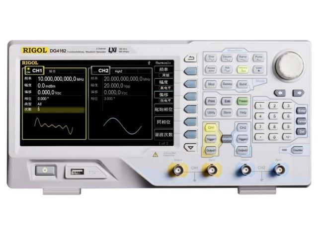 Rigol DG4162 generátor funkční/libovolných signálů obrázek 1