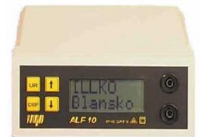 ILLKO ALF 10 přístroj pro měření malých odporů proudem 10Ast