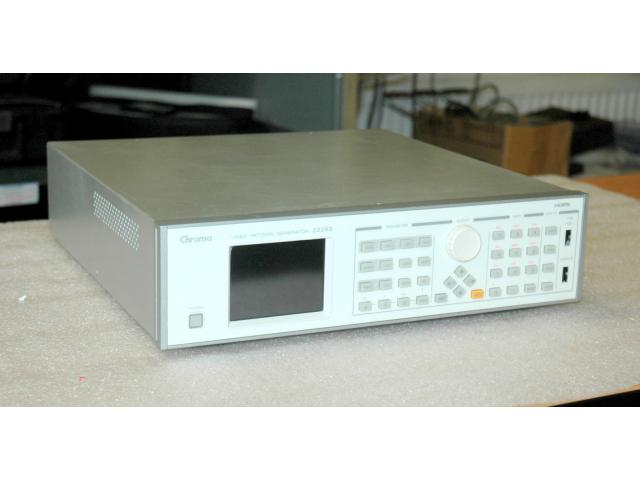 Chroma 22293 video generátor zkušebních obrazců
